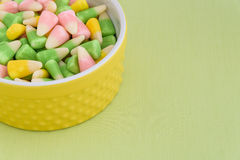 Festive Easter candy corn Stock Photo