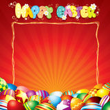 Festive Easter Card Royalty Free Stock Photography