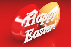 Festive Easter card Royalty Free Stock Photo