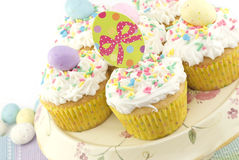 Festive Easter Cupcakes Royalty Free Stock Image