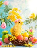 Festive Easter decoration Royalty Free Stock Photography