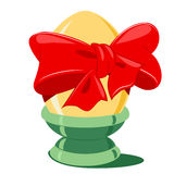 Festive Easter Egg Stock Photo