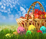 Festive Easter greeting card. Image of a festive Easter greeting card Royalty Free Stock Images