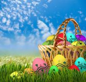 Festive Easter greeting card. Image of a festive Easter greeting card Stock Photography