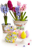 Festive Easter Table Royalty Free Stock Images