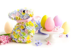 Festive Easter Table Stock Images