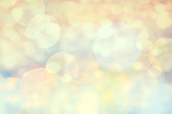 Festive Elegant abstract background with bokeh defocused golden. Lights Stock Image