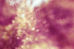 Festive elegant abstract background with bokeh lights and stars Texture . Festive elegant abstract background with bokeh lights and stars Texture royalty free illustration