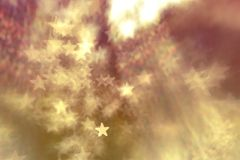 Festive elegant abstract background with bokeh lights and stars Texture . Festive elegant abstract background with bokeh lights and stars Texture vector illustration