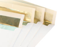 Festive envelopes Royalty Free Stock Photography