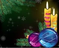 Festive evening  Christmas background Royalty Free Stock Images