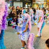 Carnaval de Torrevieja 2018. Festive event carnival in torrevieja on the Costa Blanca Spain. 20018, FEBRUARY 11 Stock Photography
