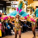 Carnaval de Torrevieja 2018 royalty free stock image