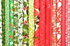 Festive fabric Royalty Free Stock Image