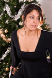 Festive female portrait. Royalty Free Stock Images