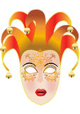 Festive feminine mask Royalty Free Stock Photos