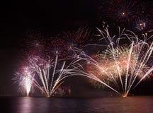 Festive fireworks Royalty Free Stock Photo