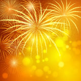 Festive fireworks Royalty Free Stock Photos