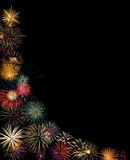 Festive fireworks display Royalty Free Stock Photo