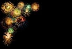 Festive fireworks display Royalty Free Stock Image