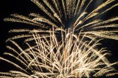Festive fireworks. stock image