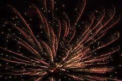 Festive fireworks. royalty free stock photography
