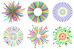 Festive fireworks Royalty Free Stock Images