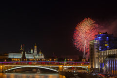 Festive fireworks Royalty Free Stock Image