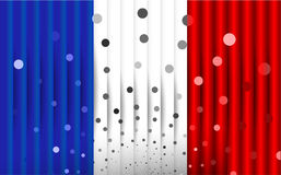 Festive flag of France Royalty Free Stock Images