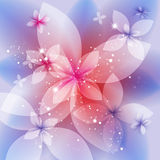 Festive floral background, abstract illustration. Festive floral background, abstract vector illustration Stock Photos