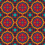Festive floral seamless pattern. Abstract flower vintage ethnic seamless ornament. tiled floral doodle design. royal luxury colorful pattern Stock Photo