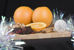 Festive food Stock Photography