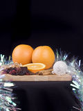 Festive food Stock Images