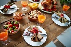 Festive food Stock Photo