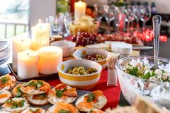 Festive food, London Royalty Free Stock Photo