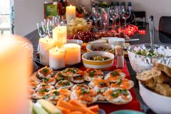 Festive food, London Stock Photo