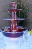 Festive Fountain Stock Photography