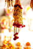 Festive garland Stock Image