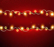 Festive garlands Stock Photography