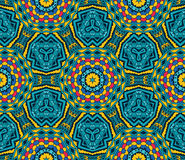 Festive geometric star seamless pattern. Festive colorful background design. Abstract Tribal vintage ethnic seamless pattern ornamental Stock Photography