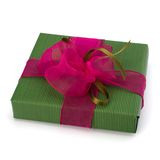Festive gift box Royalty Free Stock Image