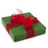 Festive gift box Stock Photography