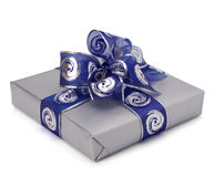 Festive gift box Royalty Free Stock Photos