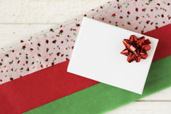 Festive Gift Box Royalty Free Stock Images
