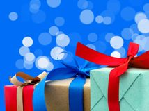 Festive gifts Stock Photography