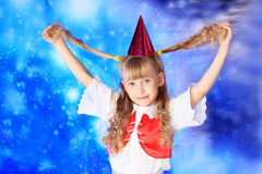 Festive girl Stock Photography