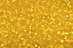 Festive Gold Sequins Background Stock Image