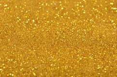 festive gold sequins background Royalty Free Stock Images