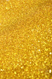 Festive gold sequins background Royalty Free Stock Photography