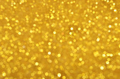 Festive gold sequins background Stock Image